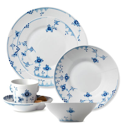 "Royal Copenhagen ""Blue Elements"" Dinnerware"