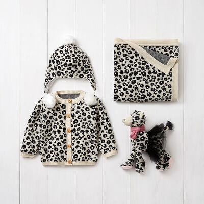 Elegant Baby Leopard 4-pc. Gift Set, , default