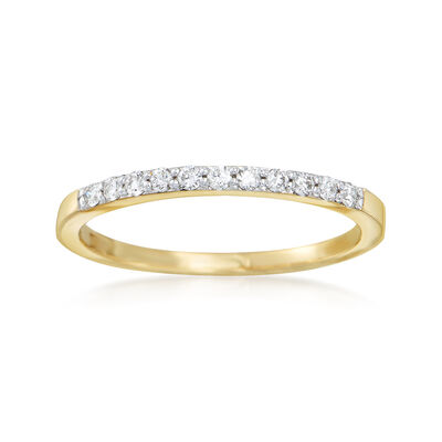 .16 ct. t.w. Diamond Ring in 14kt Yellow Gold, , default