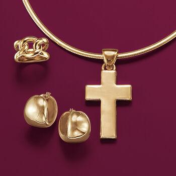 Italian Andiamo 14kt Yellow Gold Knot Ring, , default