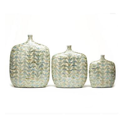 Set of 3 Palawan Teardrops Lacquered Jug Vases, , default