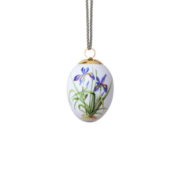 """Royal Copenhagen """"Spring"""" 2020 Iris Porcelain Easter Egg, , default"""