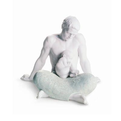 "Lladro ""The Father"" Porcelain Figurine, , default"