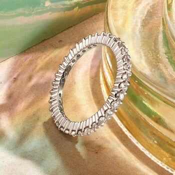 1.00 ct. t.w. Diamond Eternity Band in 14kt White Gold