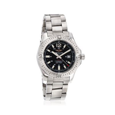 Breitling Colt Automatic Volcano Black 44mm Men's Watch in Stainless Steel, , default