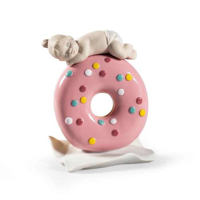 Lladro Porcelain Figurine - My Sweet Love: Baby Girl, , default