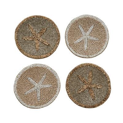 Joanna Buchanan Set of 4 Starfish Coasters, , default
