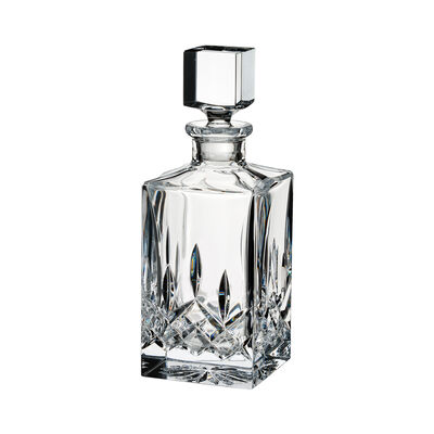 """Waterford Crystal """"Lismore"""" Square Decanter"""