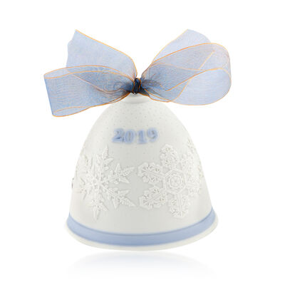 Lladro 2019 Annual Porcelain Bell Ornament, , default