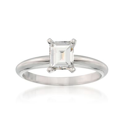 .82 Carat Diamond Solitaire Engagement Ring in 14kt White Gold, , default