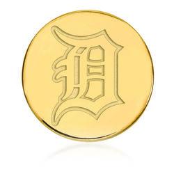 14kt Yellow Gold MLB Detroit Tigers Lapel Pin, , default