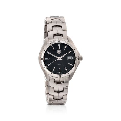 TAG Heuer Link Men's 40mm Stainless Steel Watch - Black Dial, , default