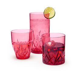 """Aurora"" Ruby Acrylic Drinkware, , default"