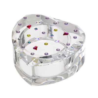 "Judith Ripka ""Gemstone"" Crystal Heart Box"