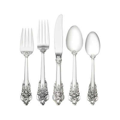 "Wallace ""Grande Baroque"" 66-pc. Service for 12 Sterling Silver Place Setting"
