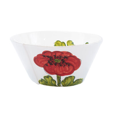 """Vietri """"Lastra"""" Poppy Large Stacking Serving Bowl from Italy"""