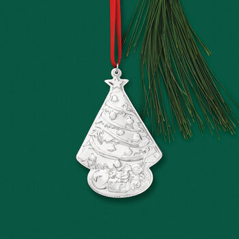 Gorham 2019 Annual Sterling Silver Christmas Tree Ornament - 3rd Edition