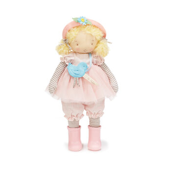 Bunnies by the Bay Elsie Girl Plush Doll Gift Set, , default