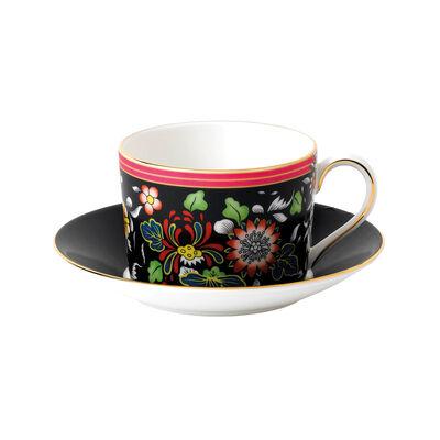 """Wedgwood """"Wonderlust"""" Oriental Jewel 2-pc. Teacup and Saucer Set, , default"""