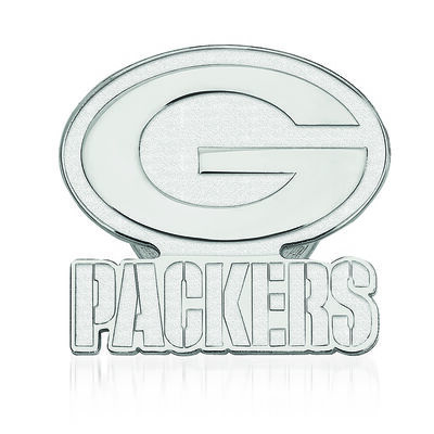 Sterling Silver NFL Green Bay Packers Lapel Pin, , default