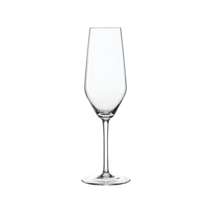 """""""Style"""" Set of 4 Champagne Flute Glasses"""