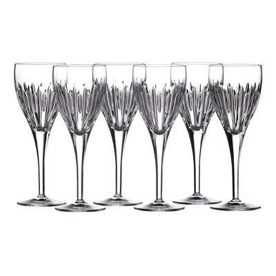 "Waterford Crystal ""Ardan"" Set of Six Mara Wine Glasses, , default"