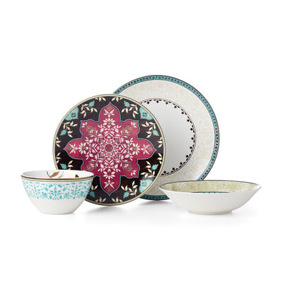 "Lenox ""Global Tapestry"" Aqua 4-pc. Place Setting, , default"