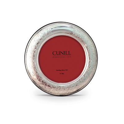 Cunill Italian Sterling Silver Vintage Round Picture Frame, , default