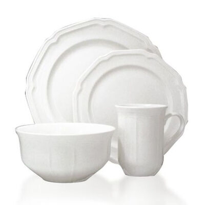 "Mikasa ""Antique White"" Dinnerware Set"