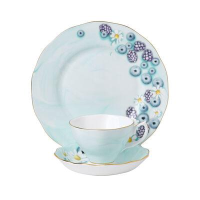 "Royal Albert ""Alpha Foodie"" 3-Piece Tea Set in Turquoise, , default"