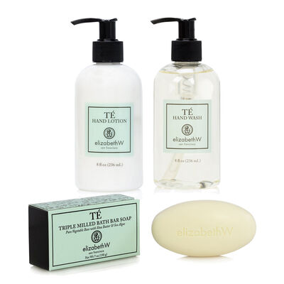 Te Hand Wash, Lotion and Soap Bar Set