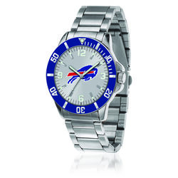Men's 46mm NFL Buffalo Bills Stainless Steel Key Watch, , default