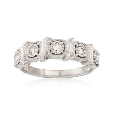 .25 ct. t.w. Diamond Five-Stone Ring in 14kt White Gold