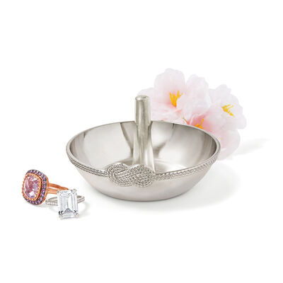 """Vera Wang for Wedgewood """"Infinity Collection"""" Metal Ring Holder, , default"""