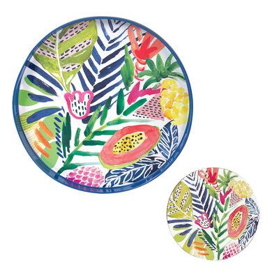 Tropics Tray and Set of 4 Coasters