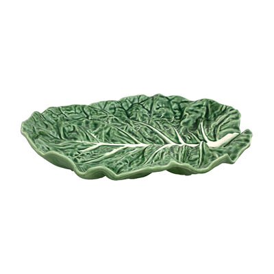 "Bordallo Pinheiro ""Cabbage"" Leaf Fruit Platter , , default"