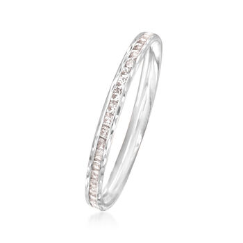 .70 ct. t.w. CZ Ring in 14kt White Gold