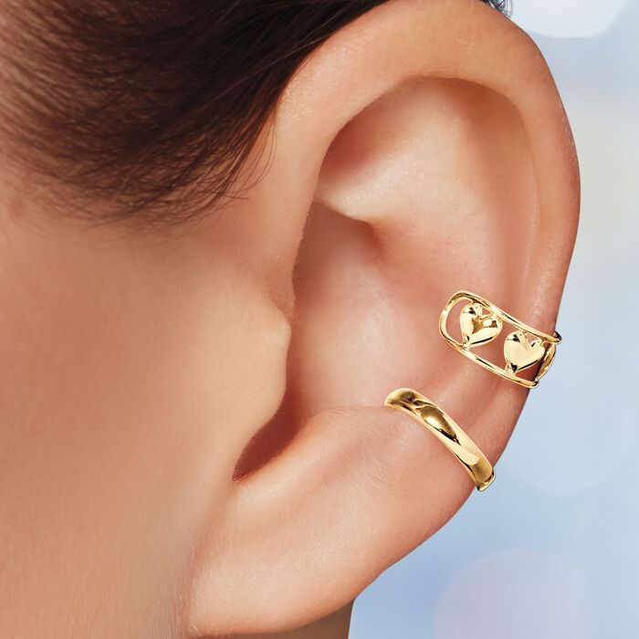 14kt Yellow Gold Single Ear Cuff