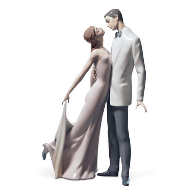"Lladro ""Happy Anniversary"" Porcelain Figurine, , default"
