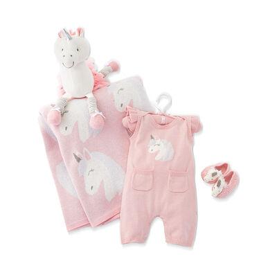 Elegant Baby Luna Unicorn Baby Gift Set