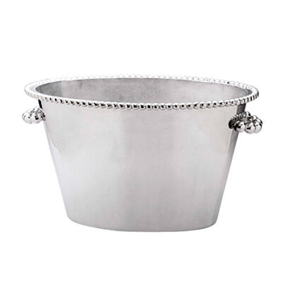 "Mariposa ""String of Pearls"" Pearled Double Ice Bucket"
