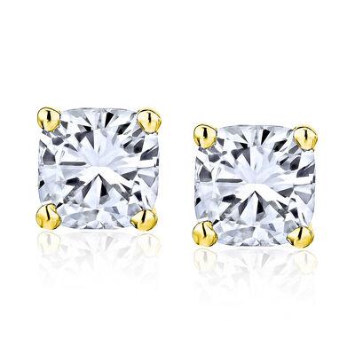 1.40 ct. t.w. Diamond Stud Earrings in 14kt Yellow Gold, , default