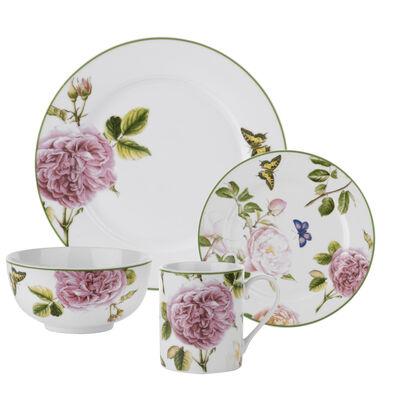 """Spode """"Roses"""" 16-pc. Service for 4 Dinnerware Set"""
