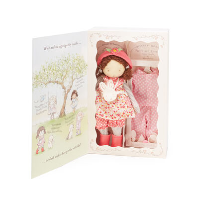Bunnies by the Bay Daisy Plush Doll Gift Set