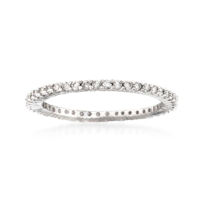 .50 ct. t.w. Diamond Eternity Band in 14kt White Gold, , default
