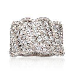 2.50 ct. t.w. Diamond Ring in 18kt White Gold, , default