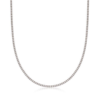 7.50 ct. t.w. Diamond Necklace in 14kt White Gold, , default