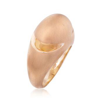 C. 1990 Vintage Bulgari 18kt Rose Gold Dome Ring. Size 9, , default