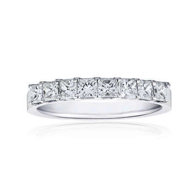 1.90 ct. t.w. Princess-Cut Diamond Ring in 14kt White Gold, , default