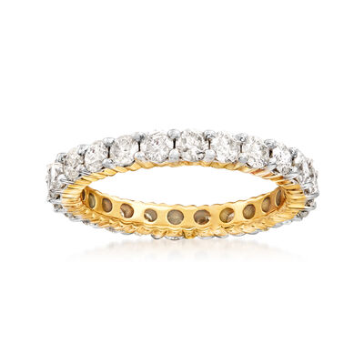 2.00 ct. t.w. Diamond Eternity Band in 14kt Yellow Gold, , default